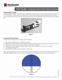 6 - Using the Hand Held Refractometer